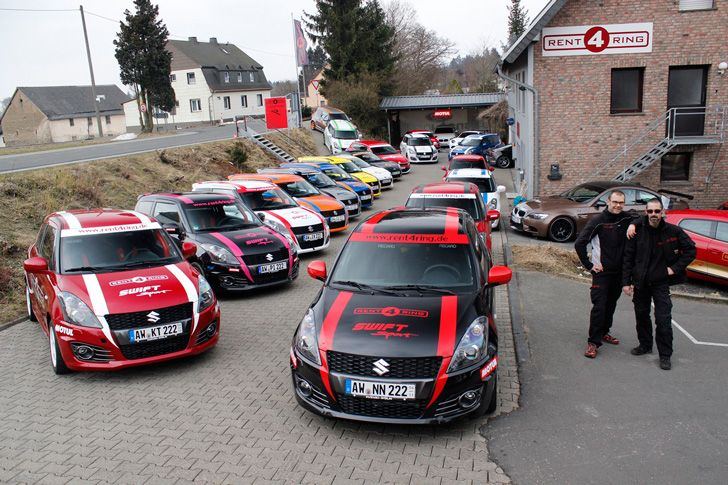 Drive Away Autos >> Race car rentals at the Nurburgring Nordschleife